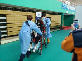 [NSP PHOTO]안산시 제2호 예방접종센터 모의훈련 실시