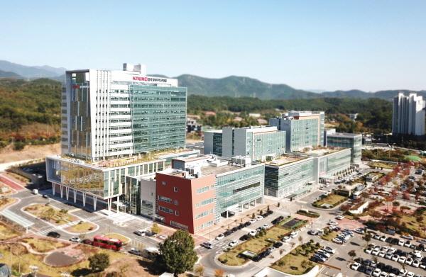 칠곡경북대학교병원 전경