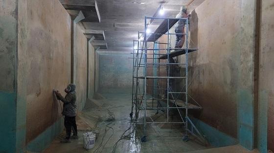 ▲예산군이 배수지 방수공사 및 덕산정수장 시설개량을 추진한다. (사진 = 예산군)