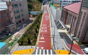 [NSP PHOTO]서울시 양천구, 남명초 앞 도로개설 공사 준공