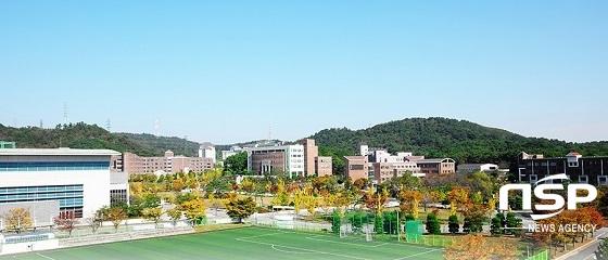 호원대학교 전경