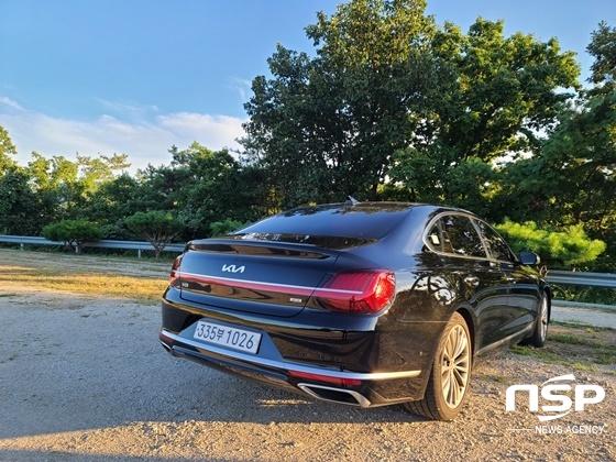 기아 K9 3.3 터보 가솔린 모델 (사진 = 강은태 기자)