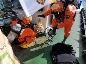 [NSP PHOTO]포항해경, 유해화학물질 사고대응 합동훈련 실시